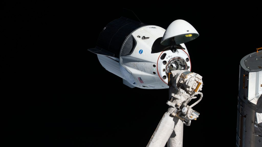 NASA and SpaceX practiced Crew Dragon rendezvous and docking to the International Space Station during a virtual dress rehearsal on June 26