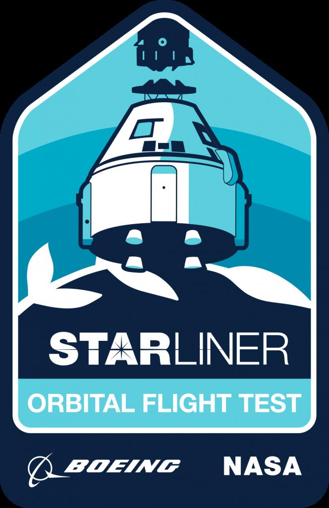 The Boeing Orbital Flight Test Mission Logo artwork.