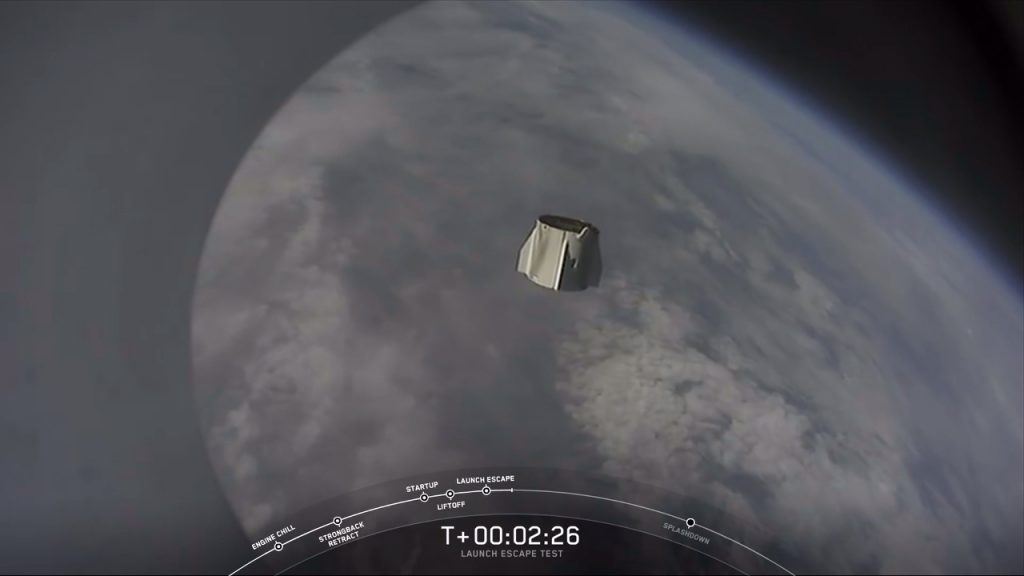 SpaceX In-Flight Abort Test