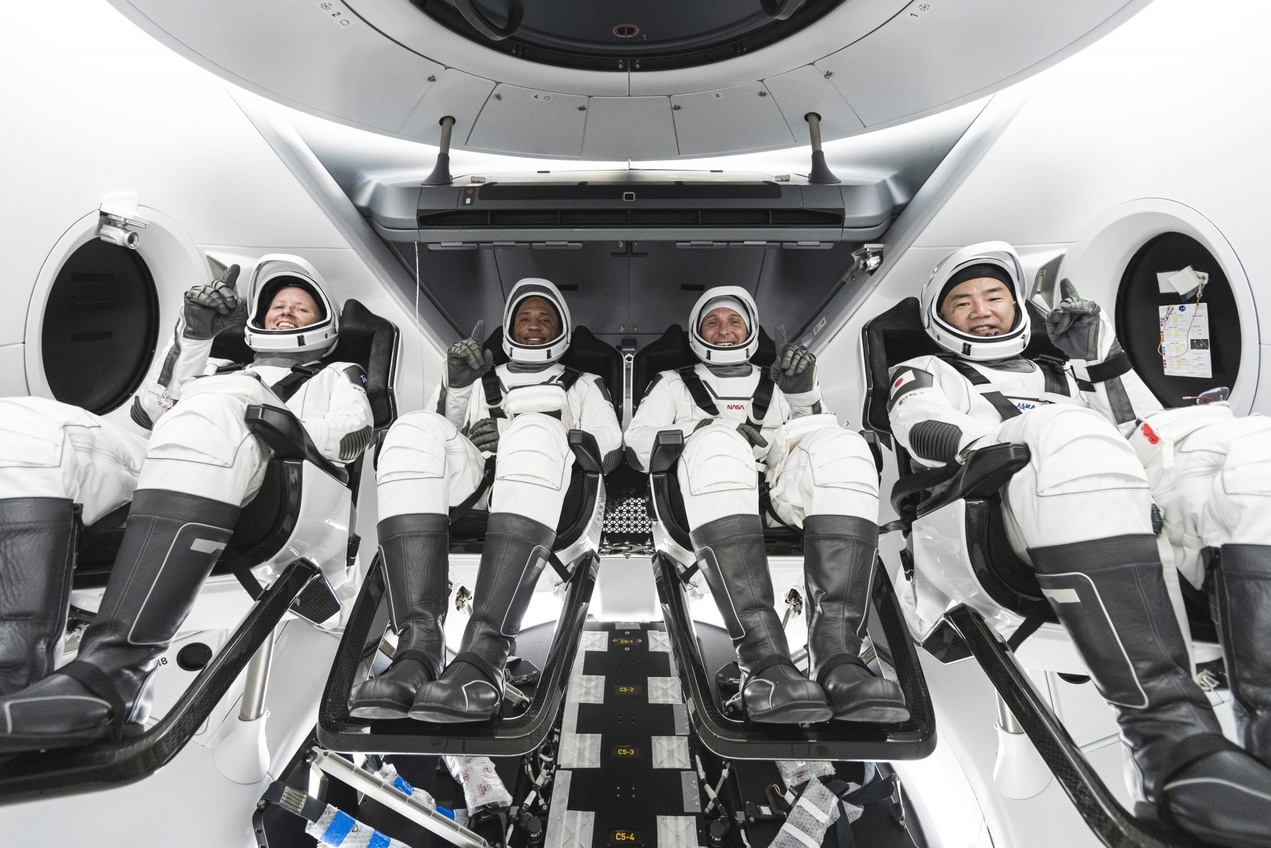 NASA's SpaceX Crew-1 astronauts