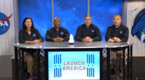 Crew-1 astronauts