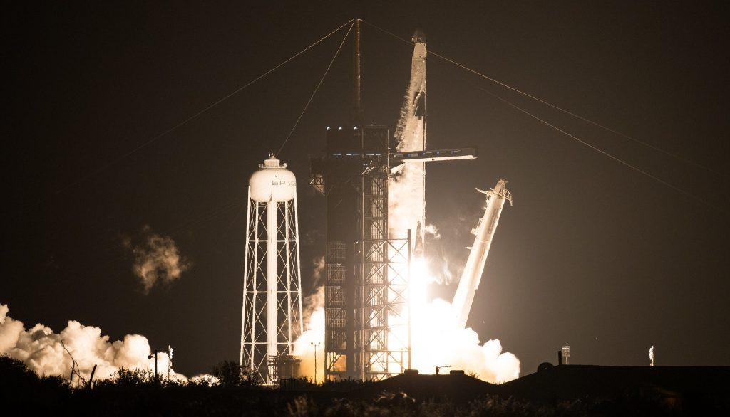Crew-1 liftoff