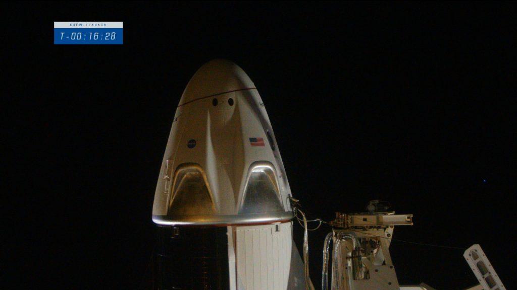 Crew-1 capsule