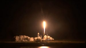 Crew-1 liftoff from 39A