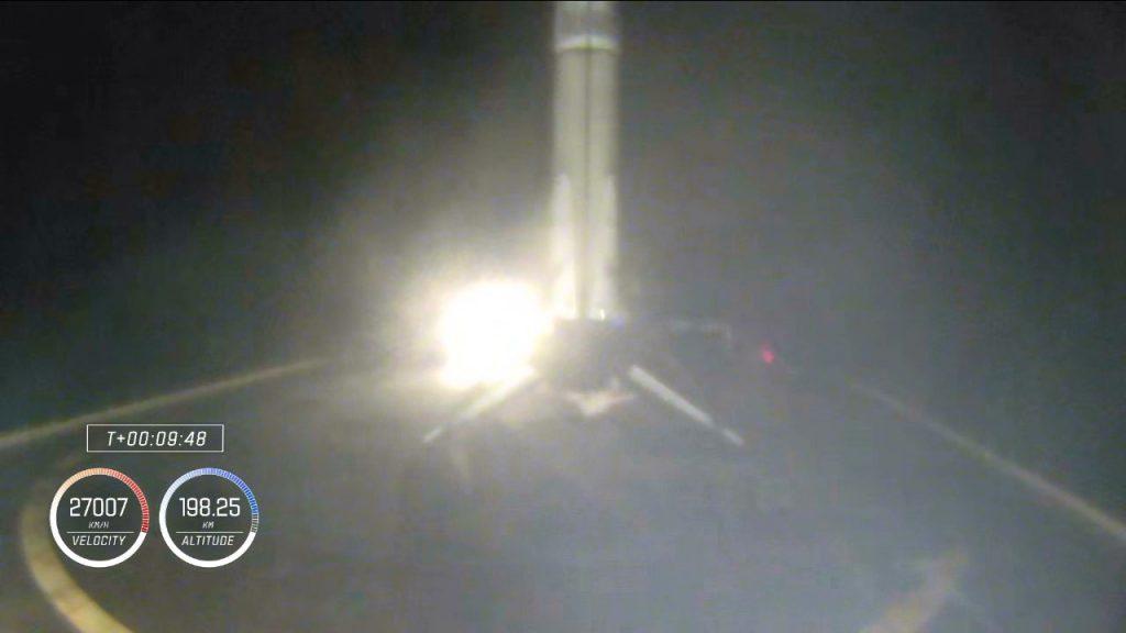 Crew-1 stage 1 landing
