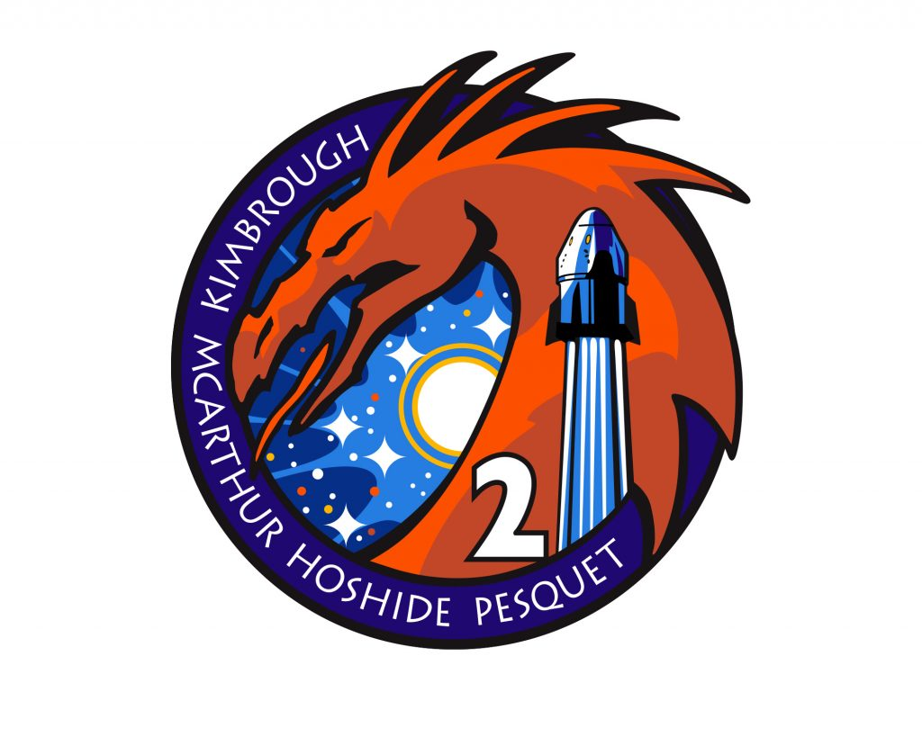 The Crew-2 mission patch.
