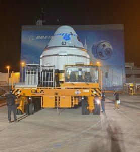 Starliner leaves C3PF