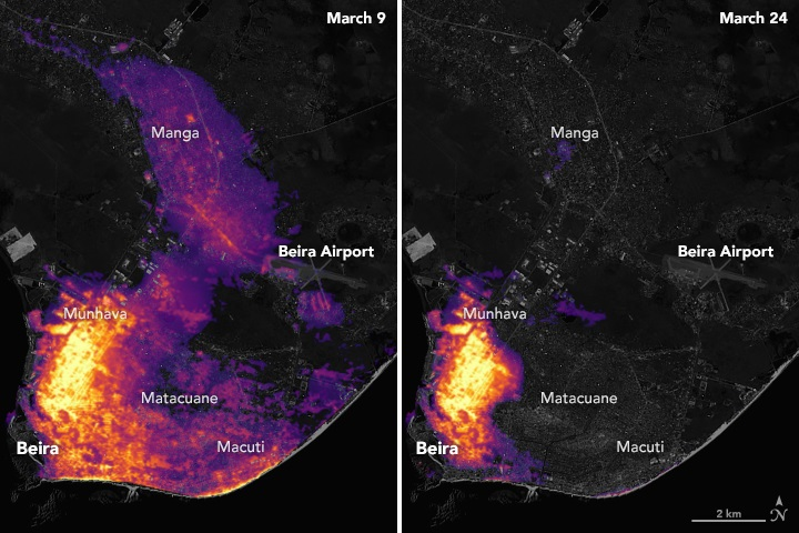 NASA Disaster Response – When disasters strike, our Earth