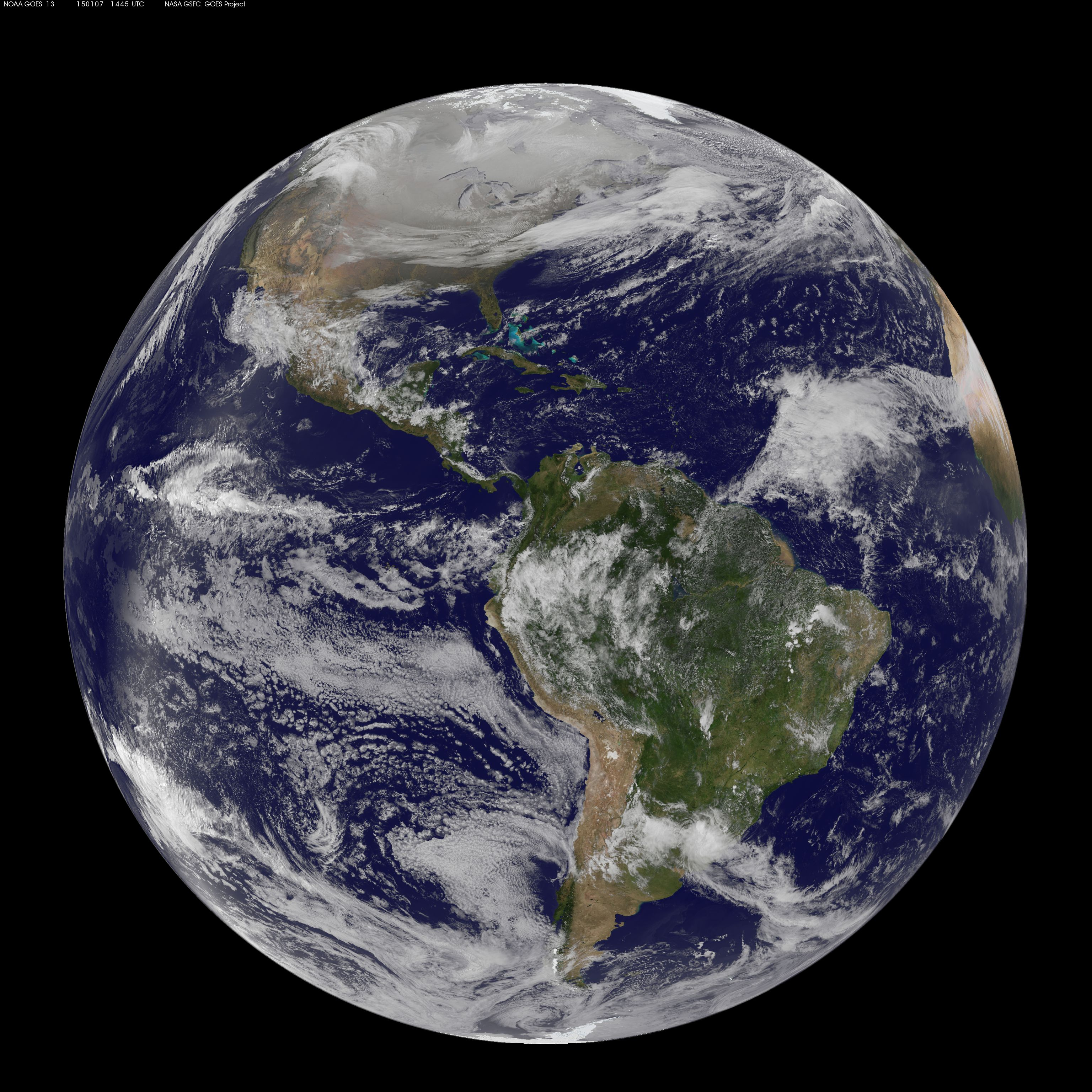 Dscovr S Epic Vision Of Earth Deep Space Climate Observatory