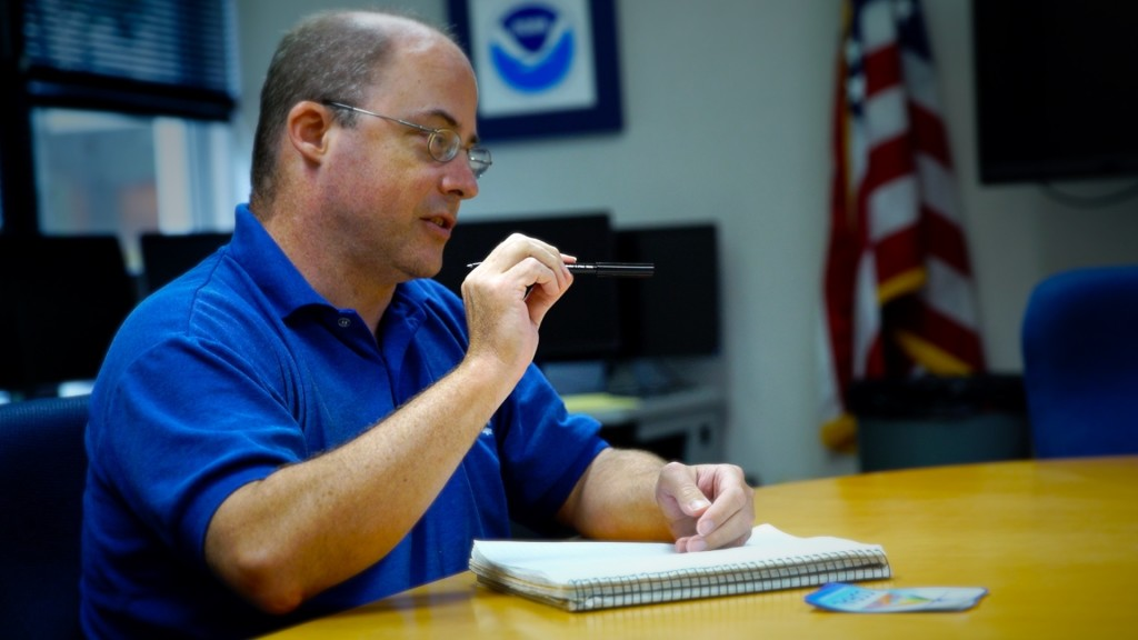 National Weather Service Science and Operations Officer Robert Ballard.