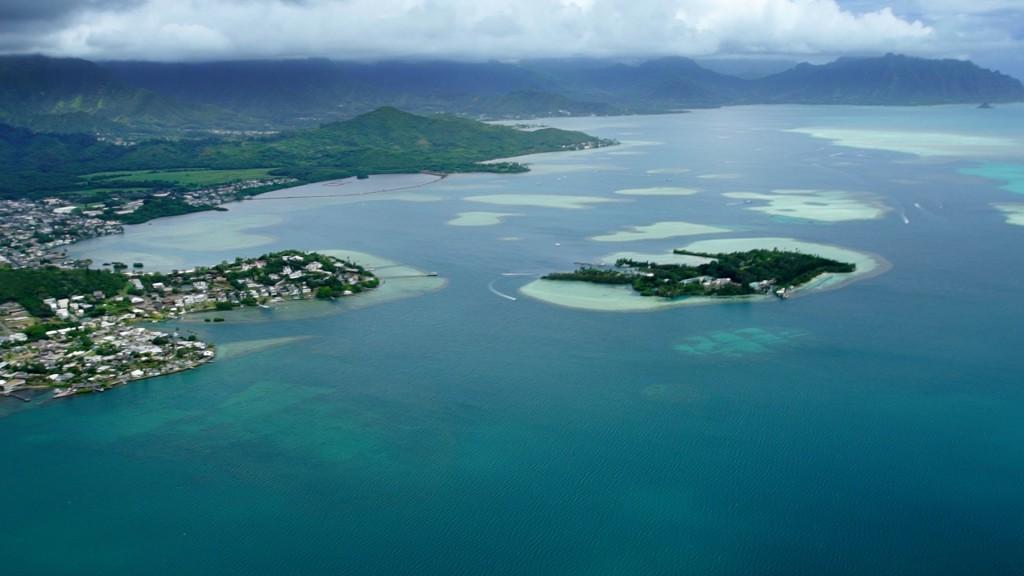 Bay in Hawaii