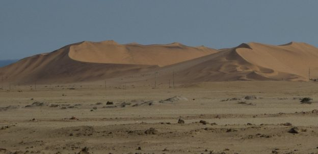 In Namibia: Between Dune and Sky