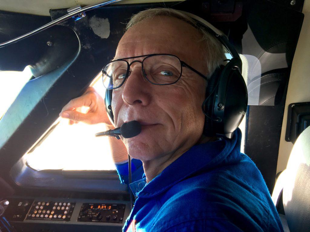 Pilot Bill Ehrenstrom. Credit: NASA/JPL-Caltech