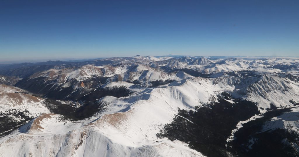 Grand Mesa in the Colorado Rockies is NASA and its partners' testbed for figuring out how much water content is in snow. Credit: NASA/ Joy Ng
