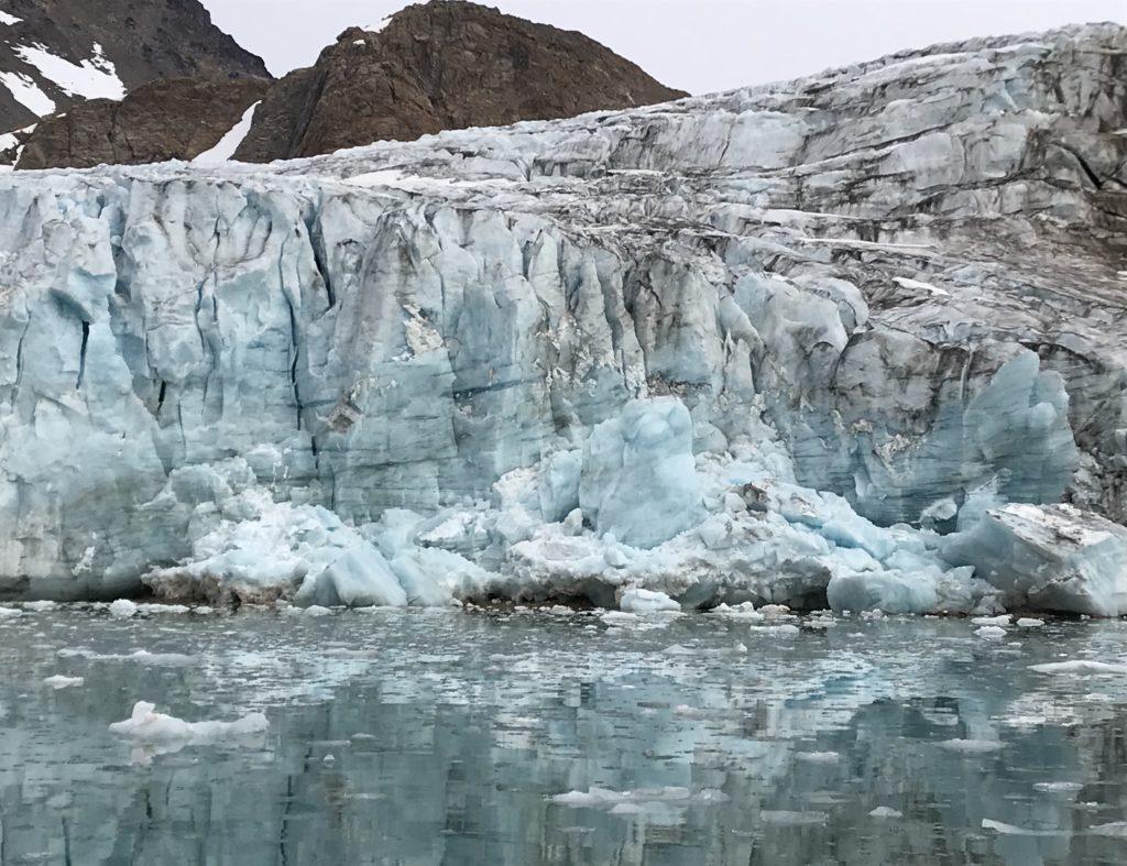 Apusiaajik Glacier near Kulusuk, Greenland. Credit NASA/JPL-Caltech