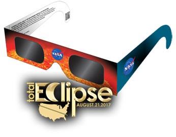 Eclipse safety glasses