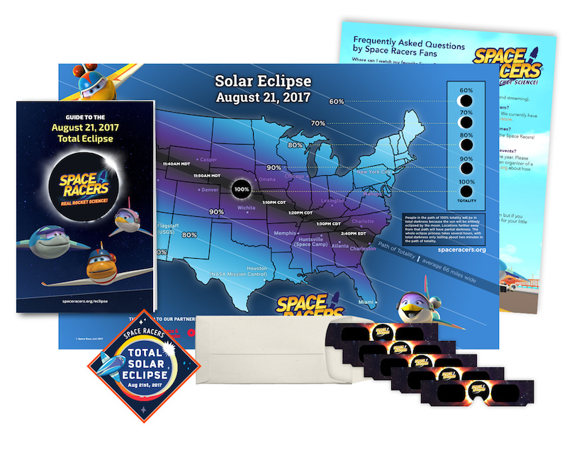 Space Racer Solar Eclipse Resources