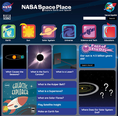 nasa space place - 909×477