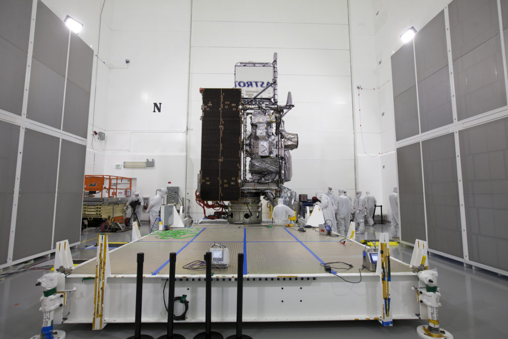 GOES-R Rotation to Vertical