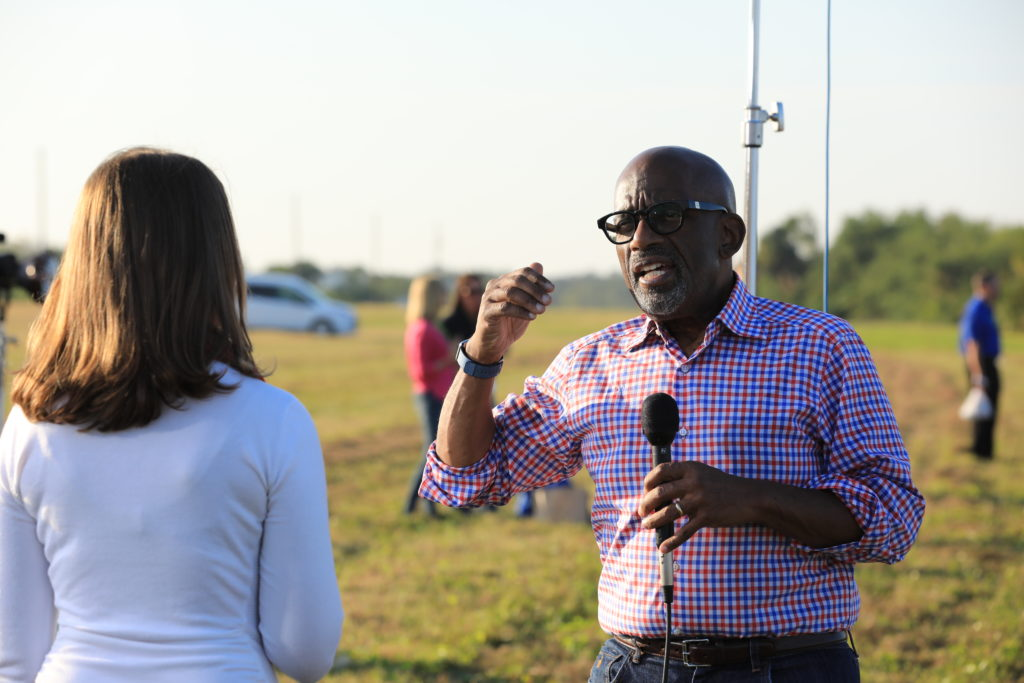 Al Roker Interview with NASA for GOES-R Mission