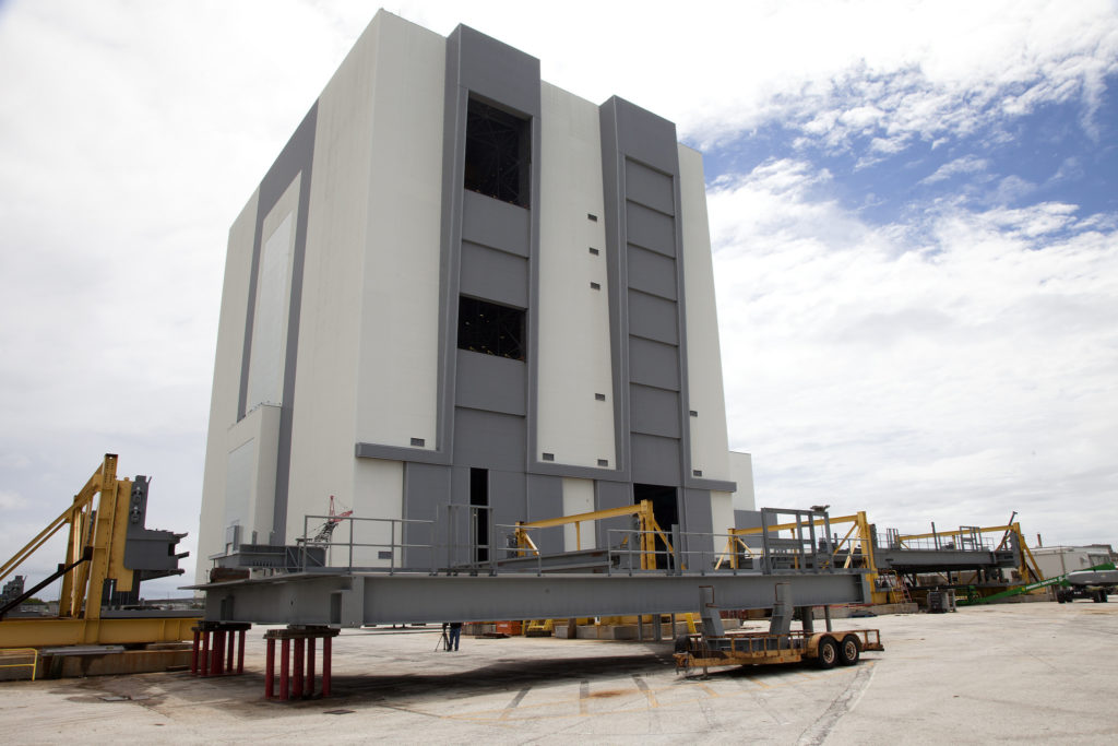 Platform C North Arrives at NASA's Kennedy Space Center in Florida.