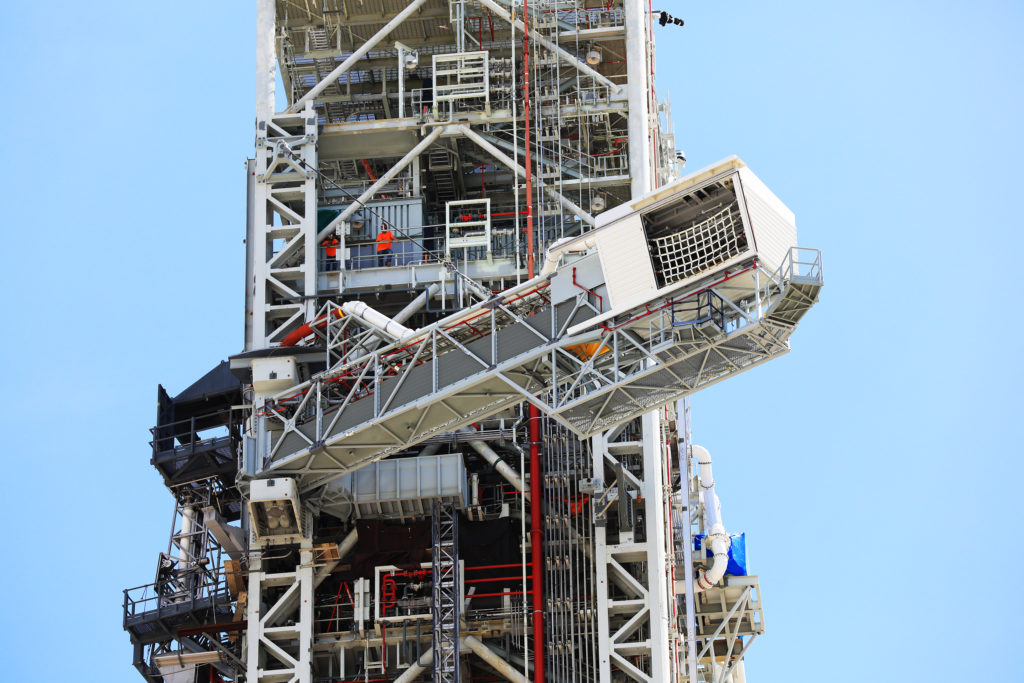 Crew Access Arm Testing
