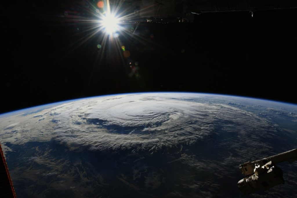ISS image of Florence