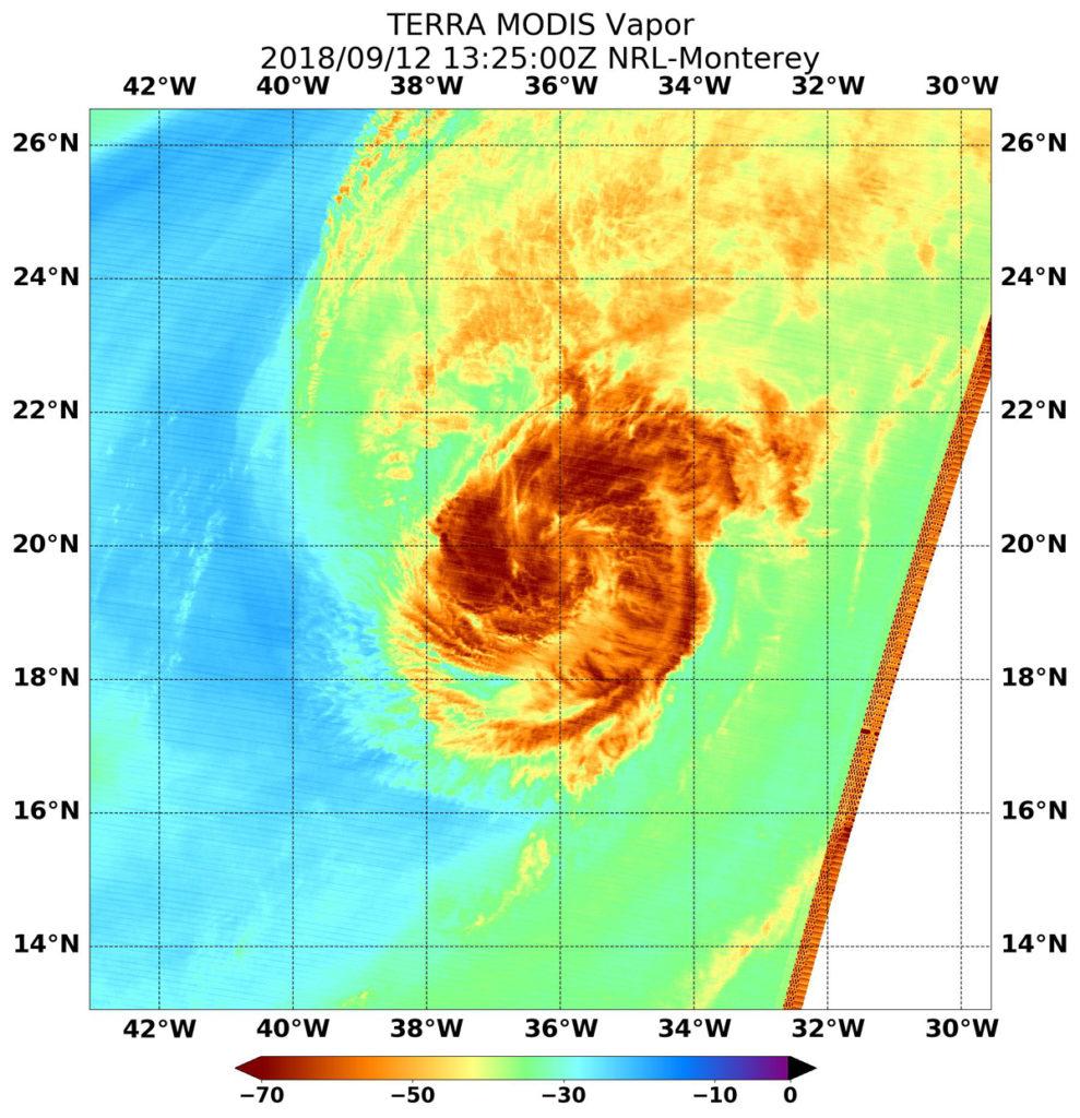 Terra image of Helene