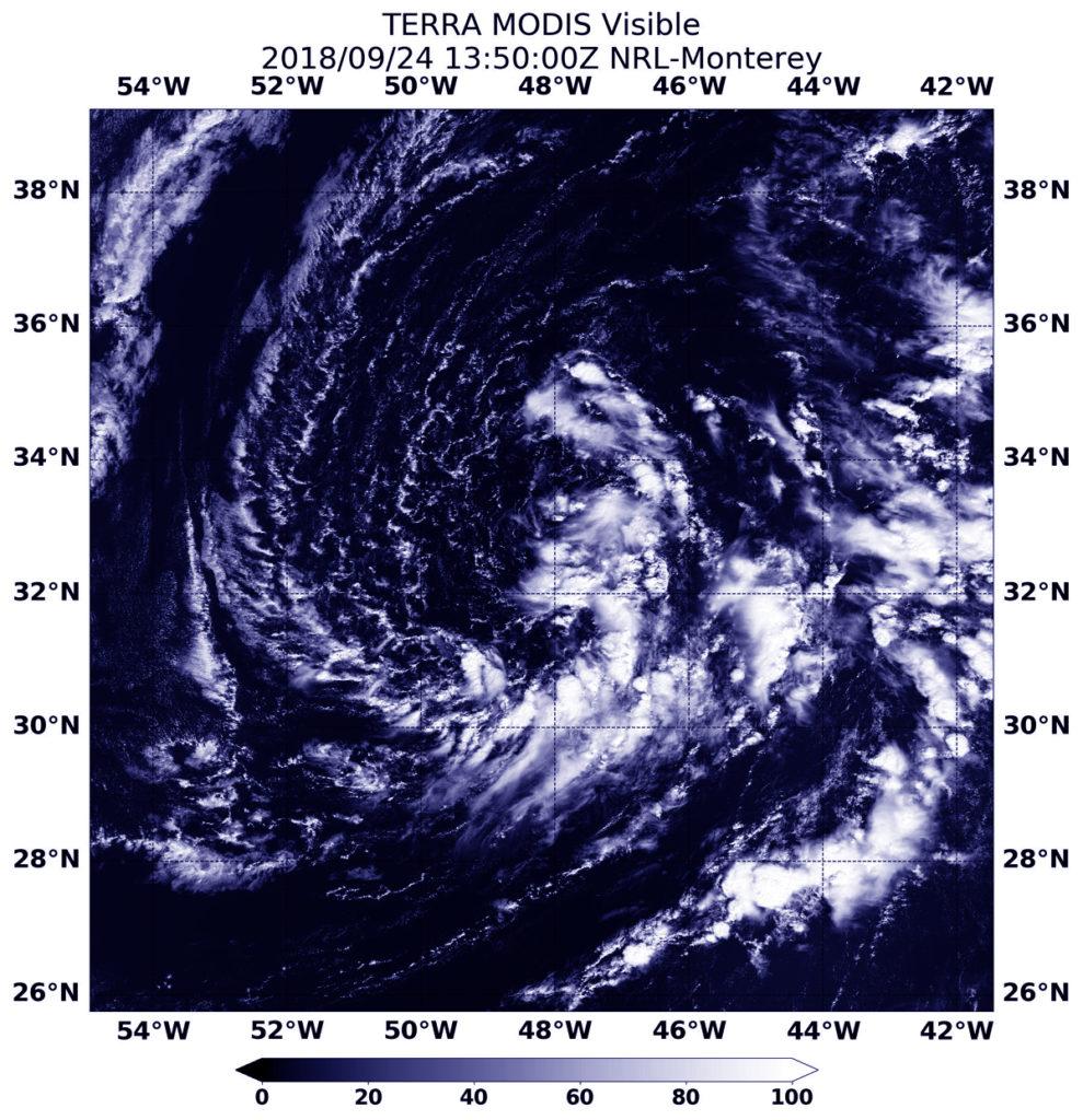 Terra image of Leslie