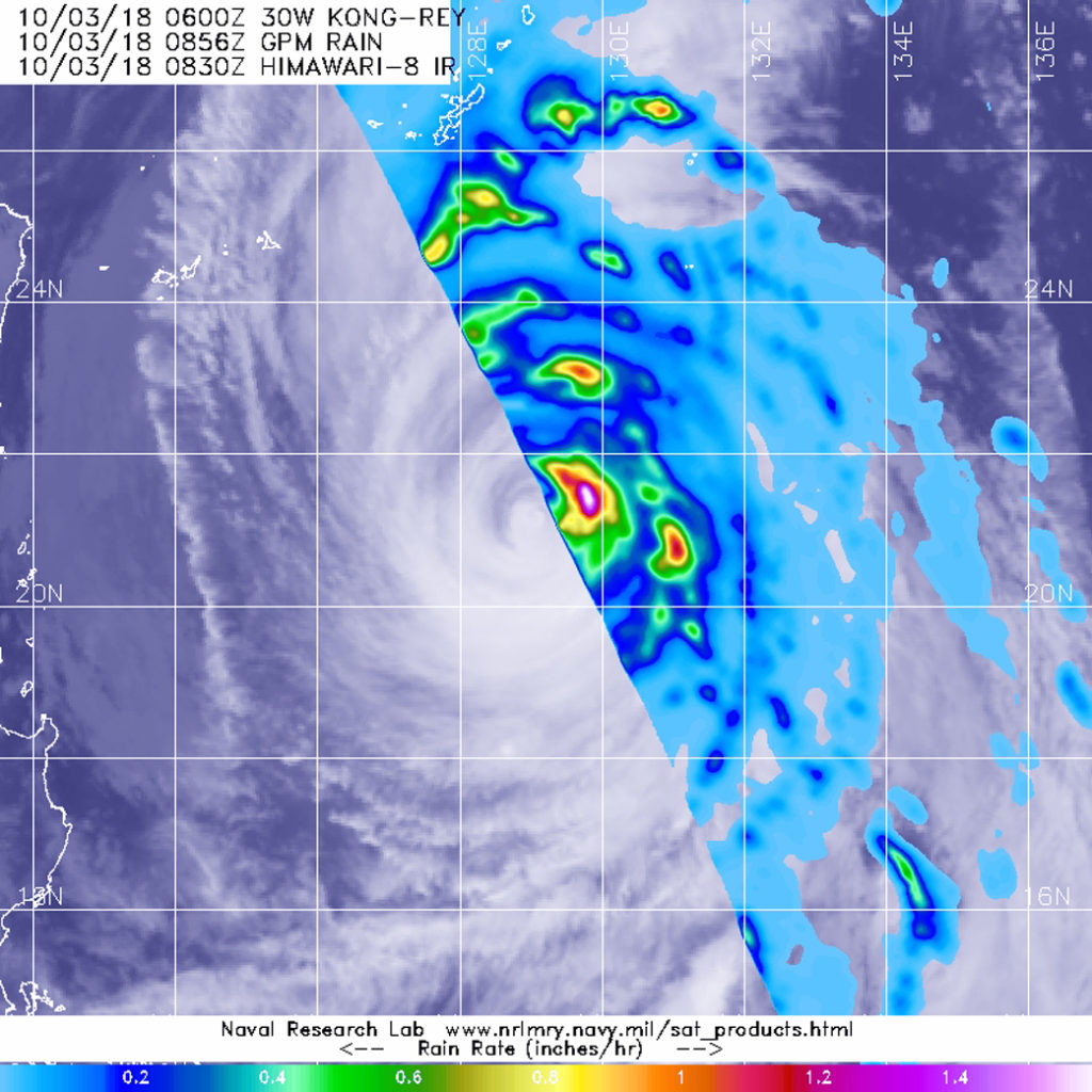 GPM image of Kong-rey