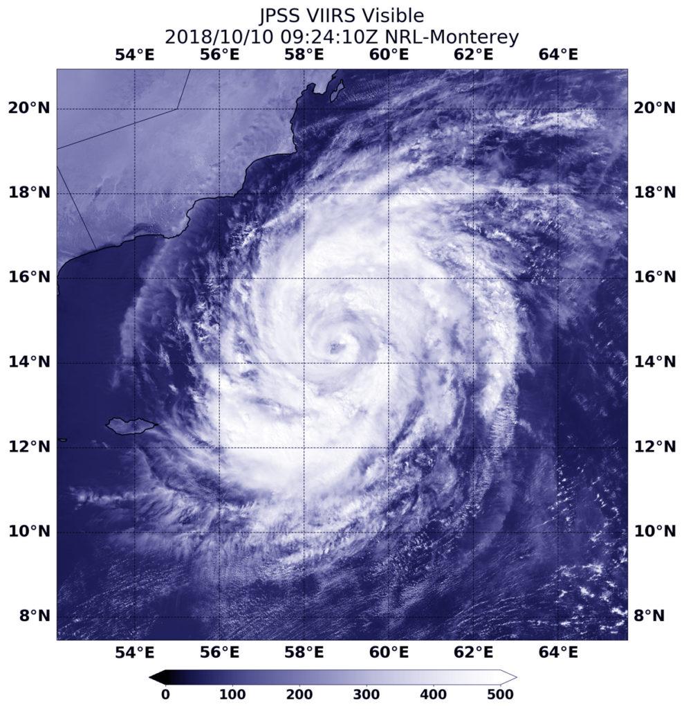 NOAA-20 image of Luban