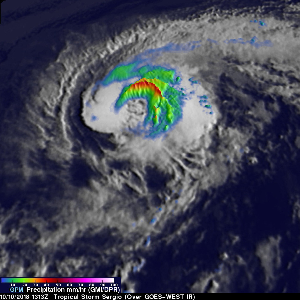GPM image of Sergio