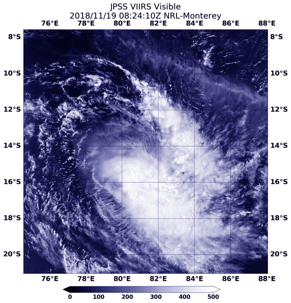 NOAA-20 image of Bouchra
