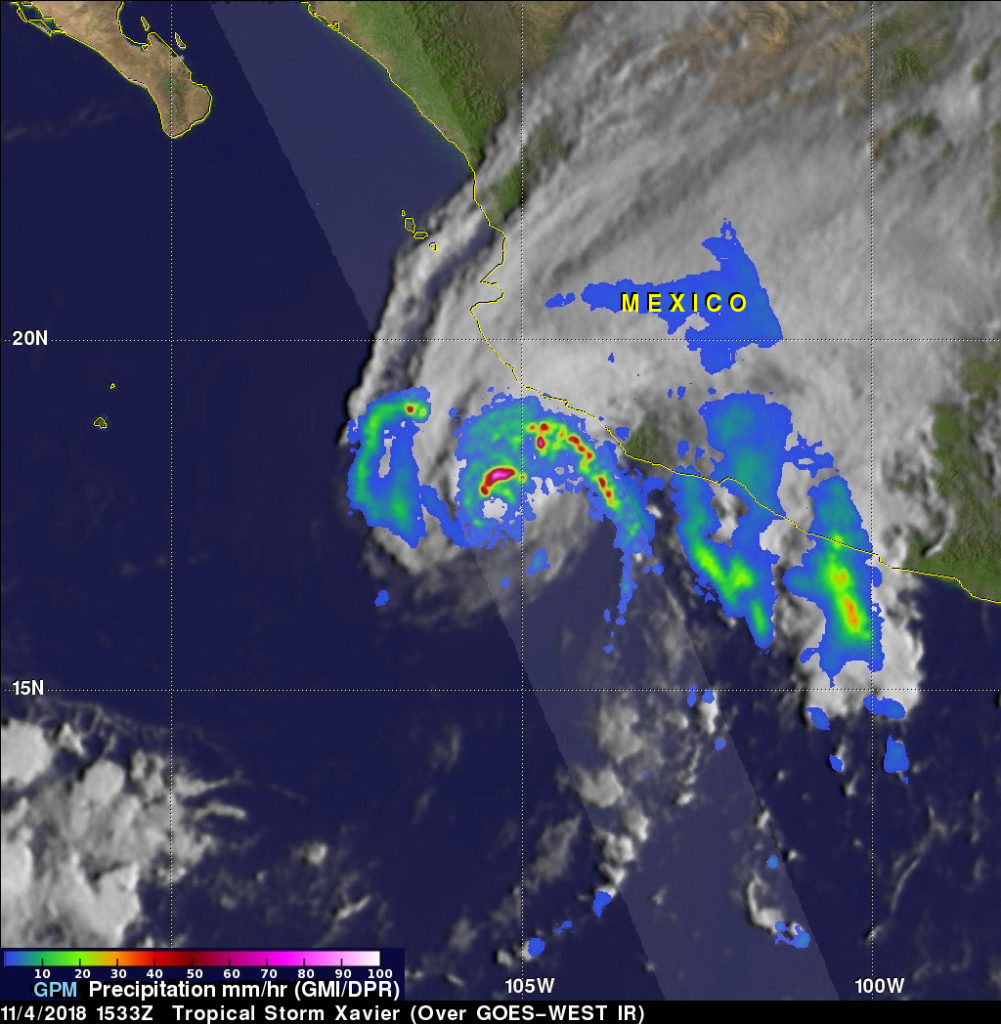 GPM Image of Xavier