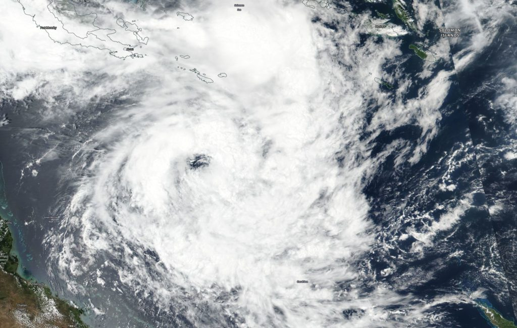 Suomi NPP image of Penny