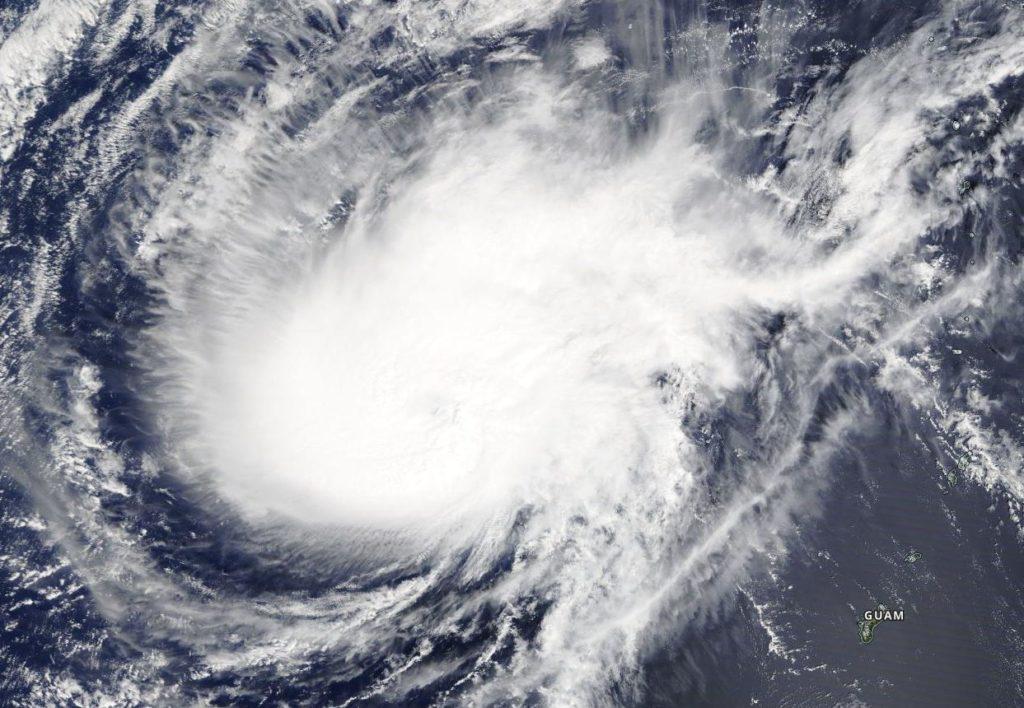 Terra image of Wutip