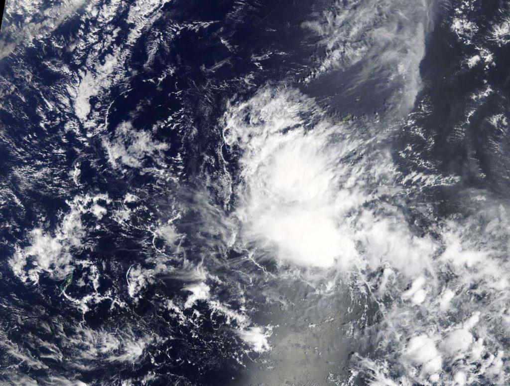 Terra image of 03W