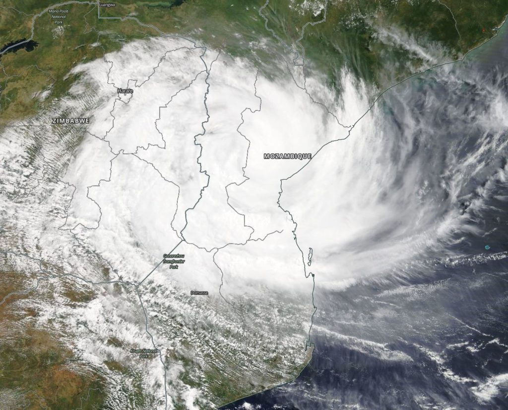 Terra image of Idai