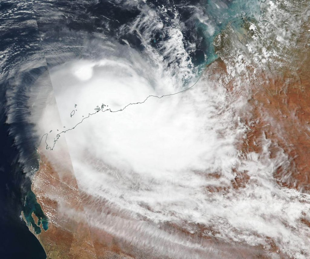 Suomi NPP image of Veronica