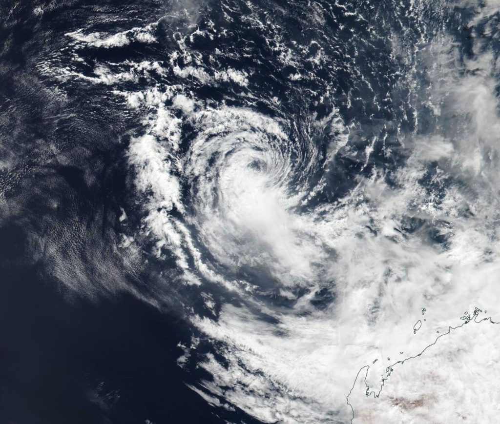 Suomi NPP image of Wallace
