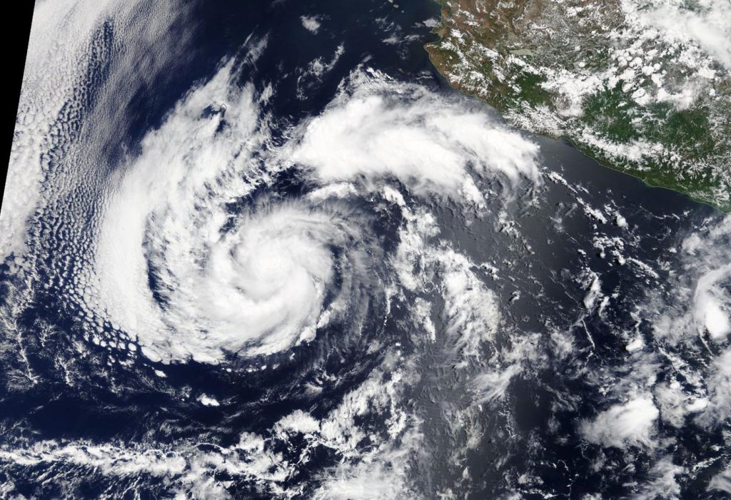 satellite image of Alvin