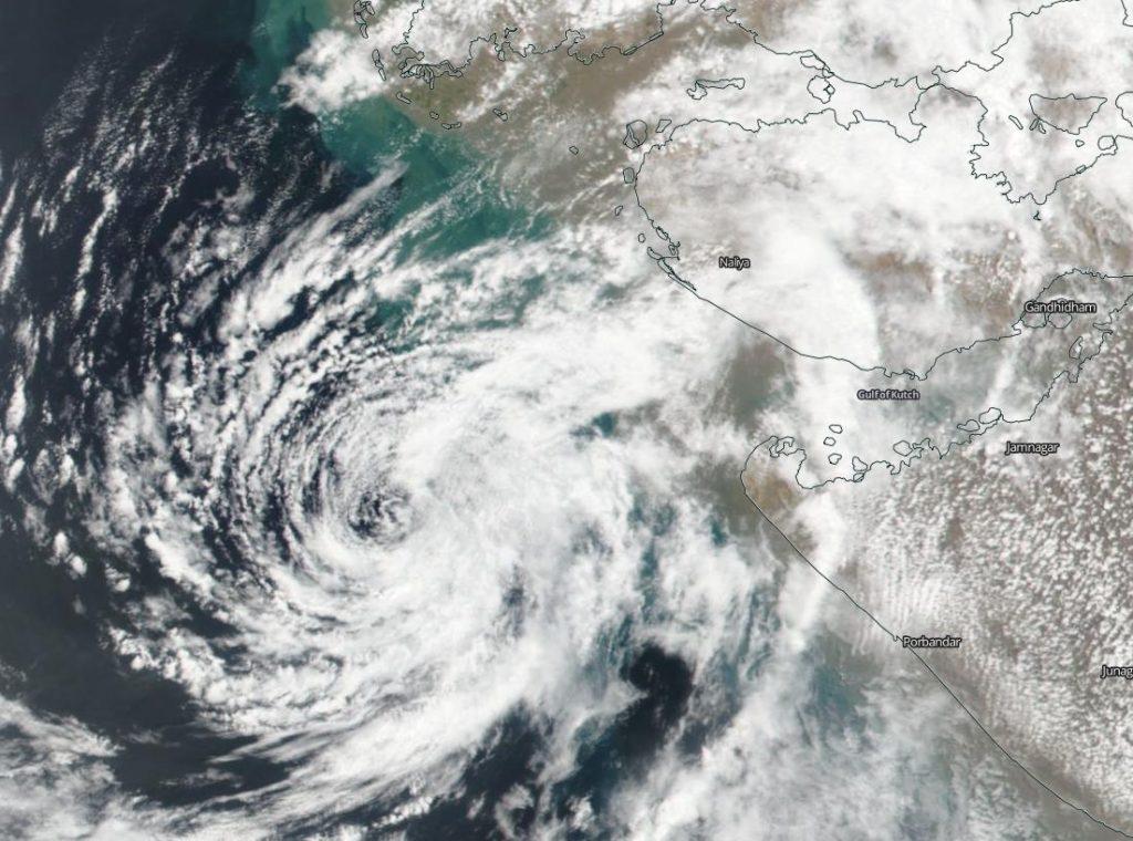 satellite image of Vayu