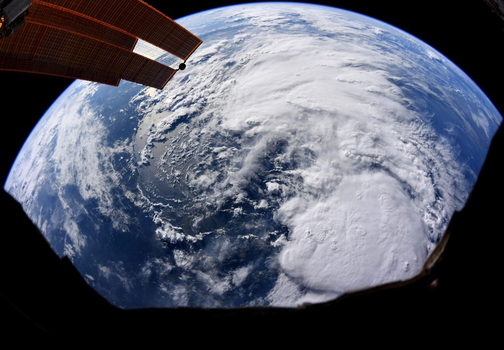 ISS image of Barry