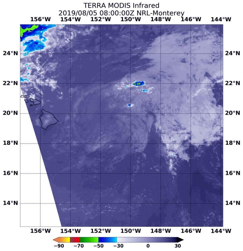 Terra image of Flossie