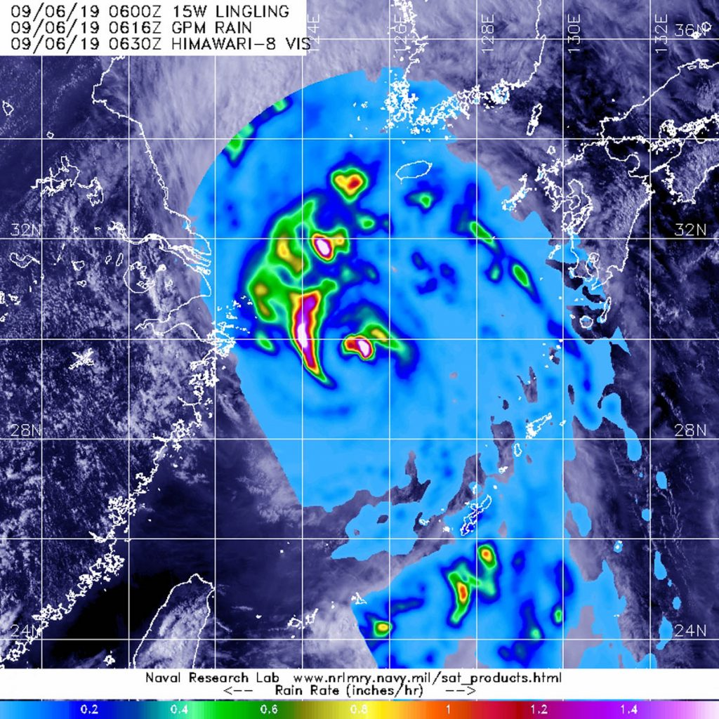 Lingling 2019 – Hurricane And Typhoon Updates