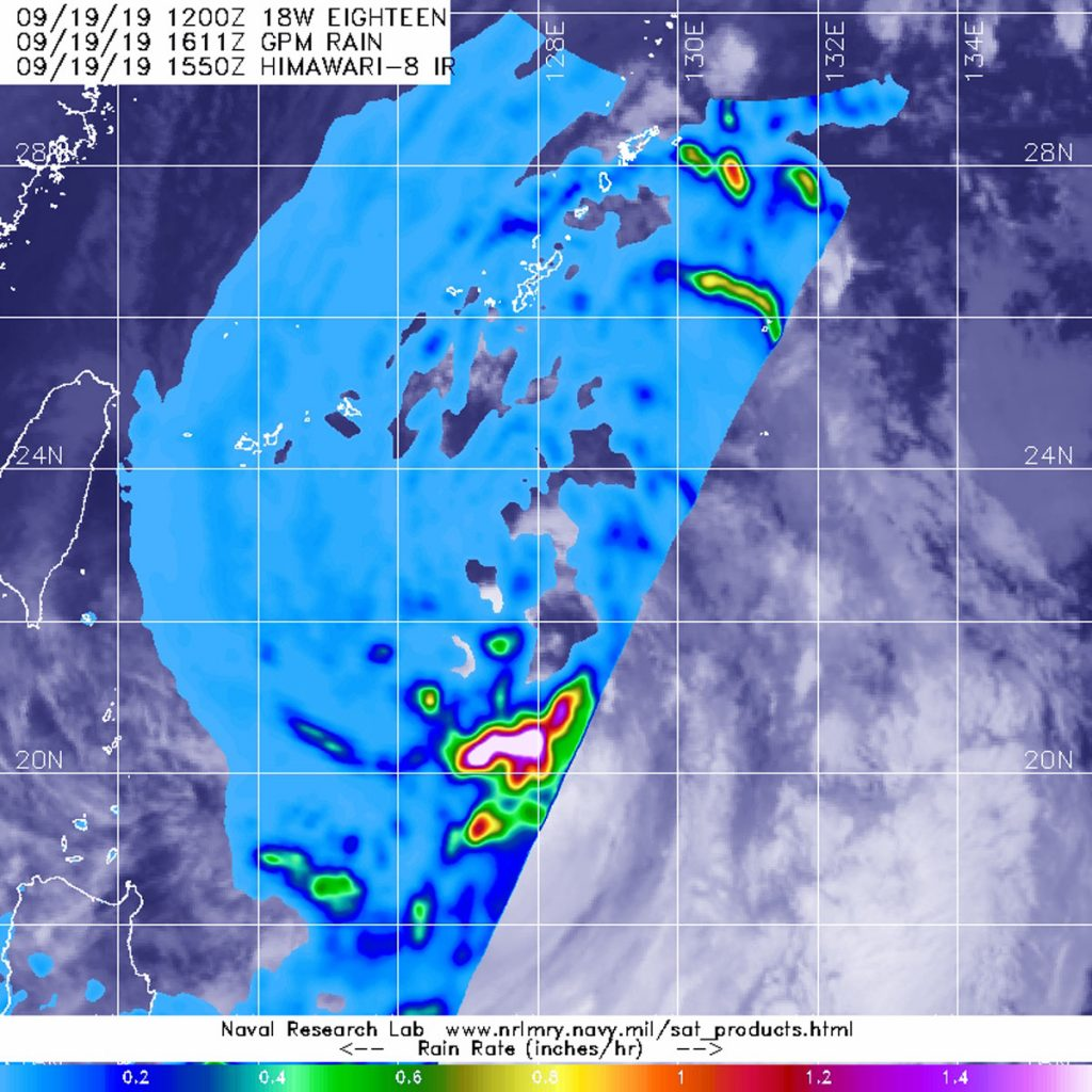 GPM image of Tapah