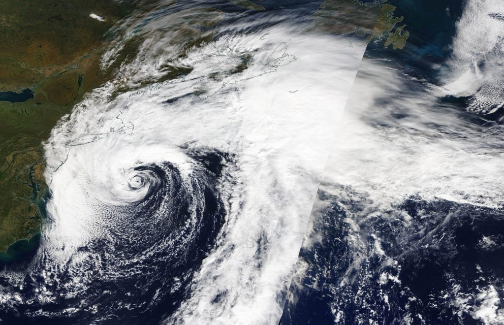 satellite image of Melissa