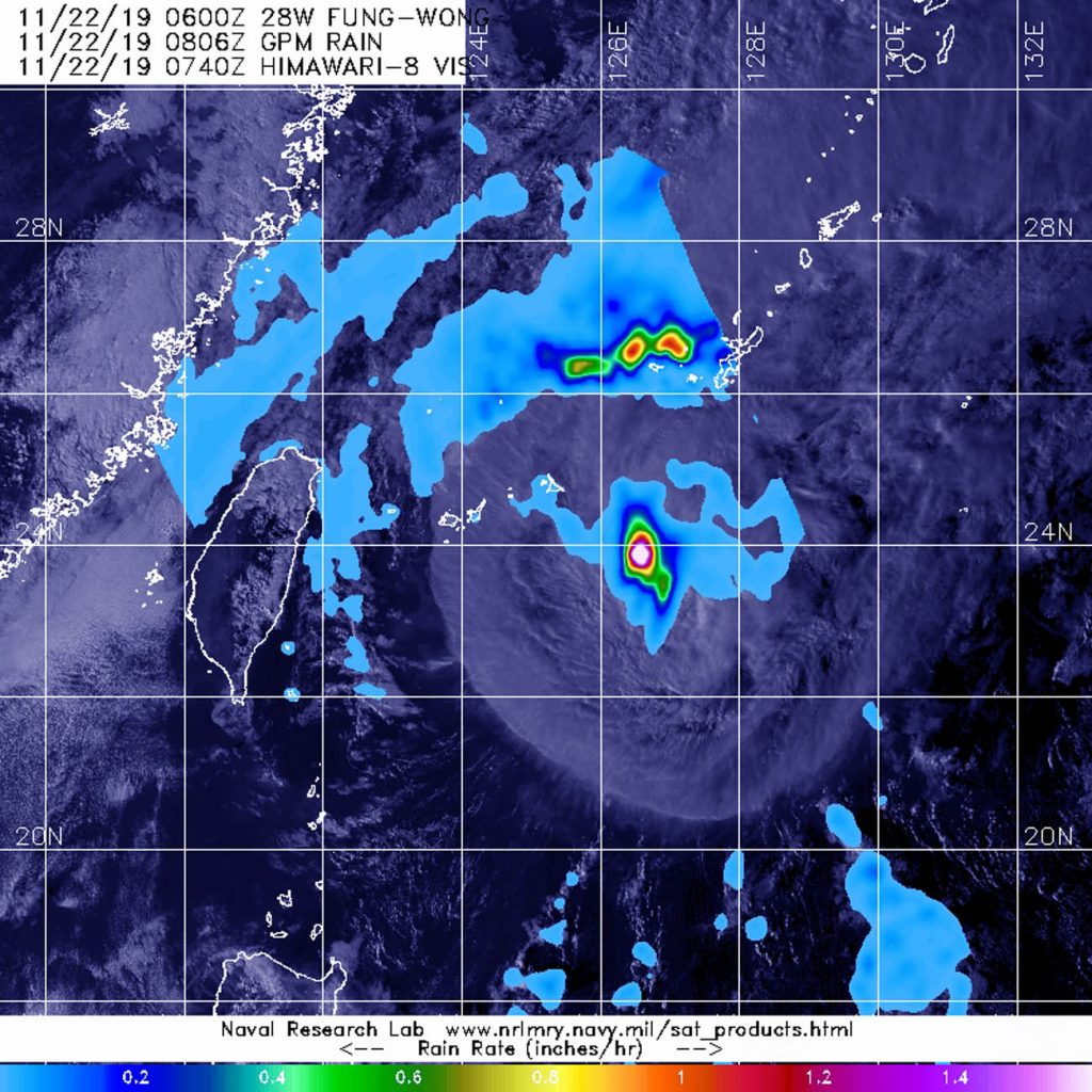 GPM image of Fung-Wong