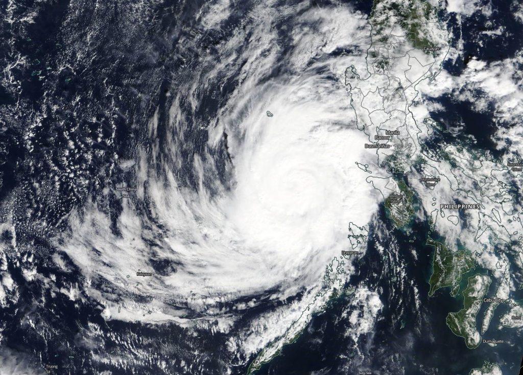 Terra image of Phanfone