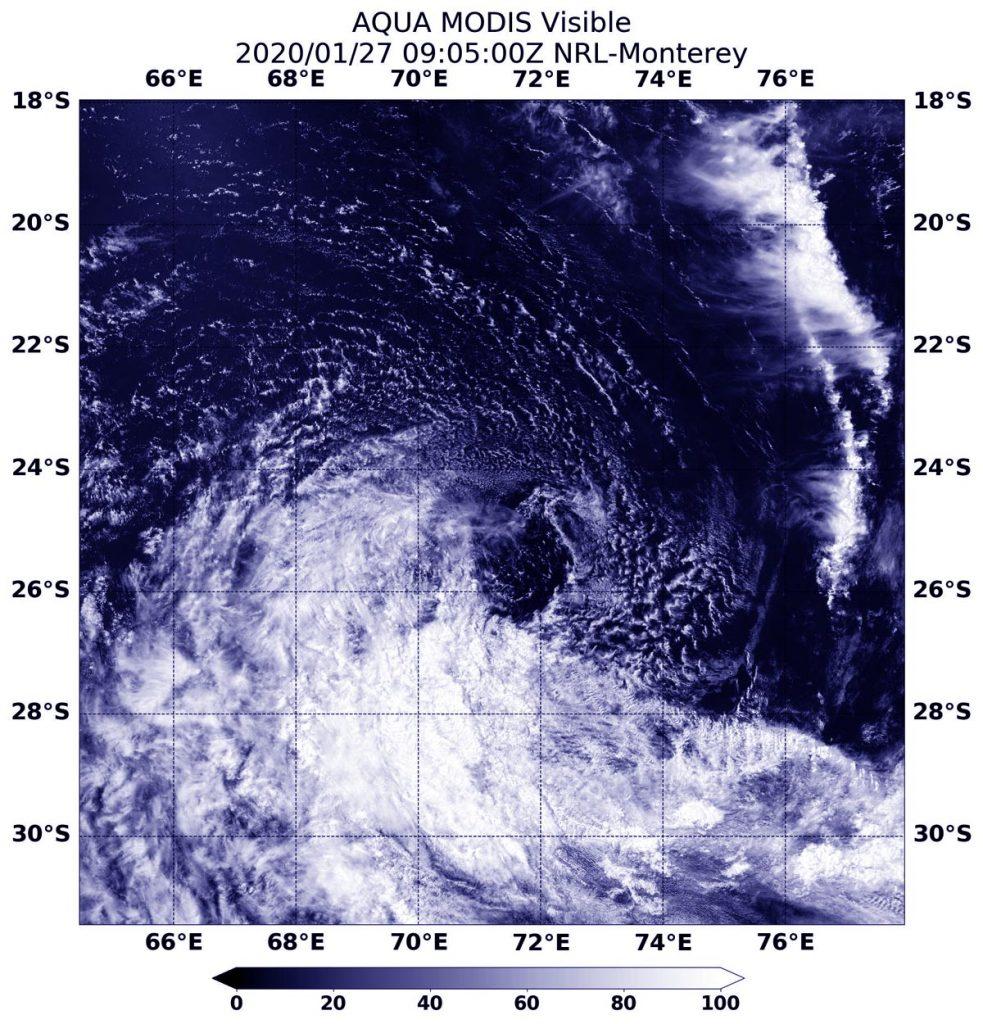 MODIS image of Diane